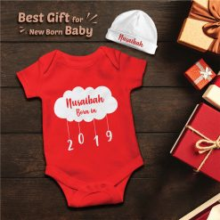 New-Born-Gift-Amazing-Baby-Romper-With-Beanie