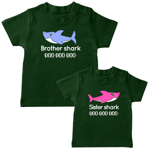 Brother-&-Sister-Shark-Green